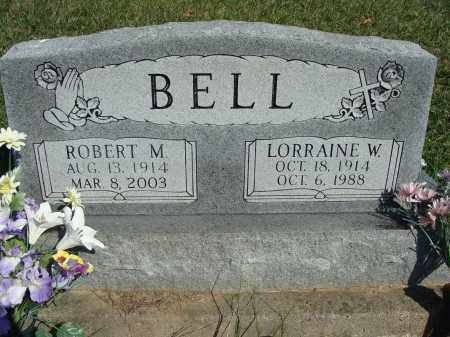 BELL, LORRAINE W - Huntingdon County, Pennsylvania | LORRAINE W BELL - Pennsylvania Gravestone Photos