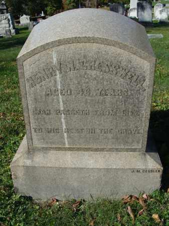 CRESSWELL, HENRY N. - Huntingdon County, Pennsylvania | HENRY N. CRESSWELL - Pennsylvania Gravestone Photos