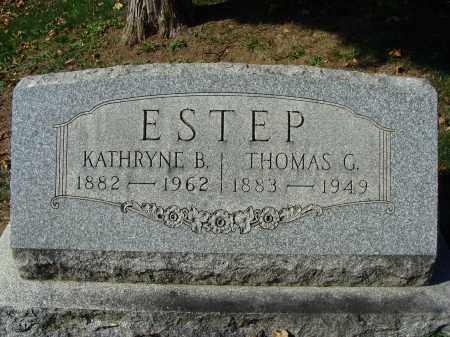 ESTEP, KATHRYNE B. - Huntingdon County, Pennsylvania | KATHRYNE B. ESTEP - Pennsylvania Gravestone Photos