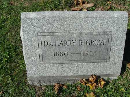 GROVE, HARRY R. - Huntingdon County, Pennsylvania   HARRY R. GROVE - Pennsylvania Gravestone Photos