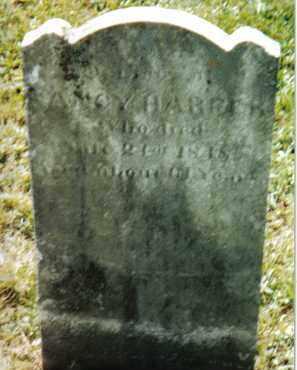 HARPER, NANCY - Huntingdon County, Pennsylvania | NANCY HARPER - Pennsylvania Gravestone Photos