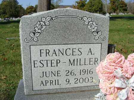 MILLER, FRANCES A. - Huntingdon County, Pennsylvania   FRANCES A. MILLER - Pennsylvania Gravestone Photos