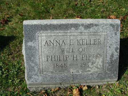 PIPER, ANNA E. - Huntingdon County, Pennsylvania | ANNA E. PIPER - Pennsylvania Gravestone Photos