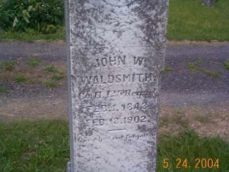 WALDSMITH, JOHN WESLEY - Huntingdon County, Pennsylvania | JOHN WESLEY WALDSMITH - Pennsylvania Gravestone Photos