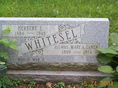 SANER WHITESEL, MARY A. - Huntingdon County, Pennsylvania | MARY A. SANER WHITESEL - Pennsylvania Gravestone Photos