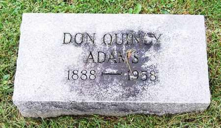 ADAMS, DONALD QUINCY - Juniata County, Pennsylvania   DONALD QUINCY ADAMS - Pennsylvania Gravestone Photos