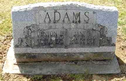 ADAMS, JANE E. - Juniata County, Pennsylvania | JANE E. ADAMS - Pennsylvania Gravestone Photos