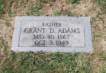 ADAMS, GRANT D. - Juniata County, Pennsylvania | GRANT D. ADAMS - Pennsylvania Gravestone Photos