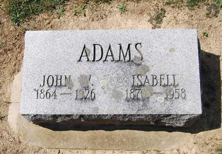 ADAMS, ISABELL - Juniata County, Pennsylvania | ISABELL ADAMS - Pennsylvania Gravestone Photos