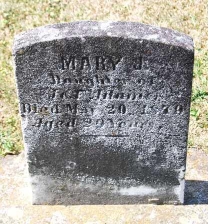 ADAMS, MARY J. - Juniata County, Pennsylvania | MARY J. ADAMS - Pennsylvania Gravestone Photos