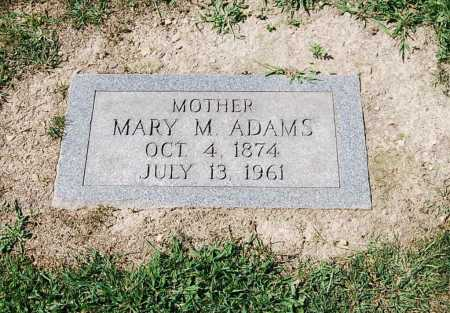 ADAMS, MARY M. - Juniata County, Pennsylvania | MARY M. ADAMS - Pennsylvania Gravestone Photos
