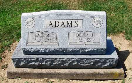 ADAMS, DELLA J. - Juniata County, Pennsylvania | DELLA J. ADAMS - Pennsylvania Gravestone Photos