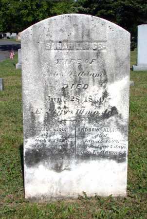 ADAMS, SARAH ELIZABETH - Juniata County, Pennsylvania | SARAH ELIZABETH ADAMS - Pennsylvania Gravestone Photos