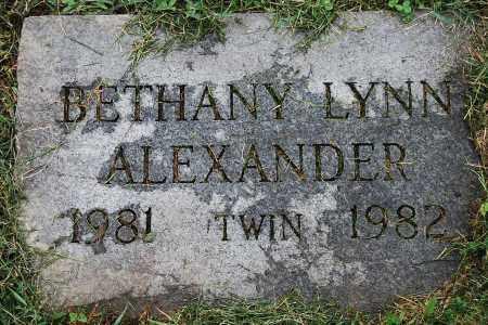 ALEXANDER, BETHANY LYNN - Juniata County, Pennsylvania | BETHANY LYNN ALEXANDER - Pennsylvania Gravestone Photos