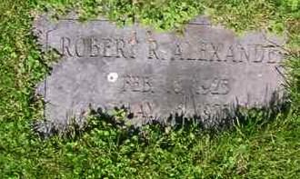 ALEXANDER, ROBERT R. - Juniata County, Pennsylvania | ROBERT R. ALEXANDER - Pennsylvania Gravestone Photos