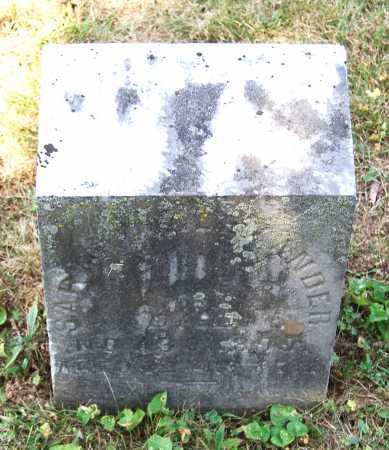 ALEXANDER, SARAH - Juniata County, Pennsylvania   SARAH ALEXANDER - Pennsylvania Gravestone Photos