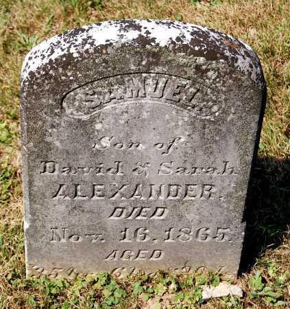 ALEXANDER, SAMUEL - Juniata County, Pennsylvania   SAMUEL ALEXANDER - Pennsylvania Gravestone Photos