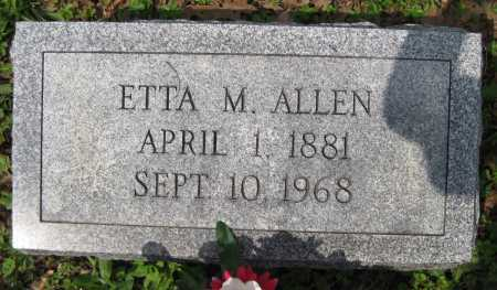 ALLEN, ETTA - Juniata County, Pennsylvania | ETTA ALLEN - Pennsylvania Gravestone Photos