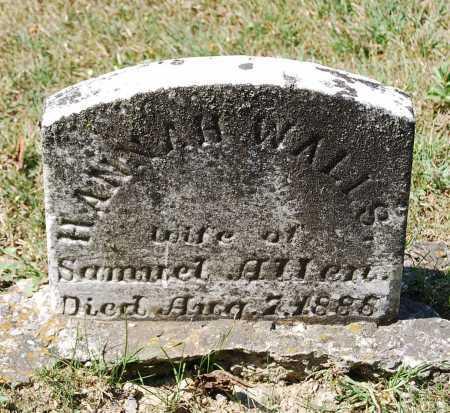 ALLEN, HANNAH - Juniata County, Pennsylvania | HANNAH ALLEN - Pennsylvania Gravestone Photos