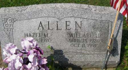 ALLEN, WILLARD J. - Juniata County, Pennsylvania | WILLARD J. ALLEN - Pennsylvania Gravestone Photos