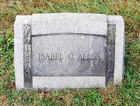 ALLEN, ISABEL - Juniata County, Pennsylvania | ISABEL ALLEN - Pennsylvania Gravestone Photos