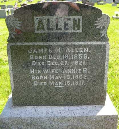 ALLEN, ANNIE B. - Juniata County, Pennsylvania | ANNIE B. ALLEN - Pennsylvania Gravestone Photos