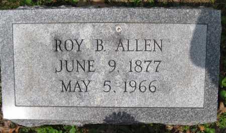 ALLEN, ROY B. - Juniata County, Pennsylvania | ROY B. ALLEN - Pennsylvania Gravestone Photos