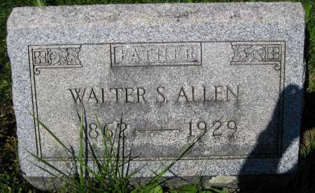 ALLEN, WALTER SCOTT - Juniata County, Pennsylvania | WALTER SCOTT ALLEN - Pennsylvania Gravestone Photos