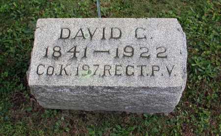 ALTER, DAVID G. - Juniata County, Pennsylvania | DAVID G. ALTER - Pennsylvania Gravestone Photos