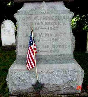 AMMERMAN, ROBERT W. - Juniata County, Pennsylvania | ROBERT W. AMMERMAN - Pennsylvania Gravestone Photos