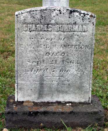 ANDERSON, CHARLES BUHRMAN - Juniata County, Pennsylvania   CHARLES BUHRMAN ANDERSON - Pennsylvania Gravestone Photos
