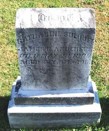 "ANDERSON, CATHARINE ""KATE"" - Juniata County, Pennsylvania | CATHARINE ""KATE"" ANDERSON - Pennsylvania Gravestone Photos"