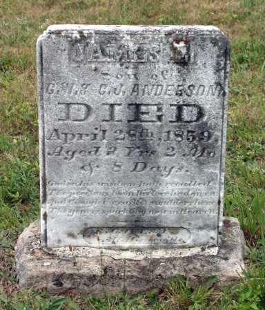 ANDERSON, JAMES E. - Juniata County, Pennsylvania | JAMES E. ANDERSON - Pennsylvania Gravestone Photos