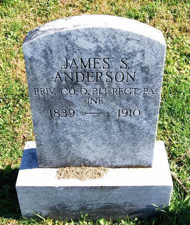 ANDERSON, JAMES S. - Juniata County, Pennsylvania | JAMES S. ANDERSON - Pennsylvania Gravestone Photos