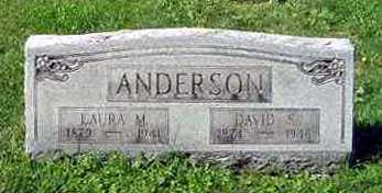 ANDERSON, DAVID C. - Juniata County, Pennsylvania | DAVID C. ANDERSON - Pennsylvania Gravestone Photos