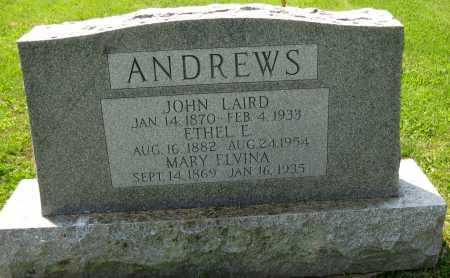 ANDREWS, JOHN LAIRD - Juniata County, Pennsylvania   JOHN LAIRD ANDREWS - Pennsylvania Gravestone Photos