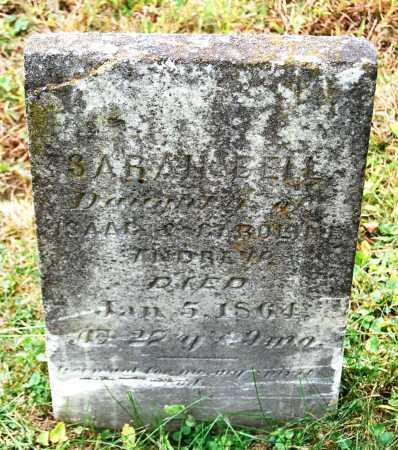 ANDREWS, SARAH BELL - Juniata County, Pennsylvania | SARAH BELL ANDREWS - Pennsylvania Gravestone Photos