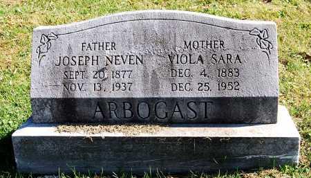 ARBOGAST, JOSEPH NEVEN - Juniata County, Pennsylvania | JOSEPH NEVEN ARBOGAST - Pennsylvania Gravestone Photos