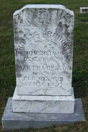 ARBUCKLE, MARTHA BULL - Juniata County, Pennsylvania   MARTHA BULL ARBUCKLE - Pennsylvania Gravestone Photos