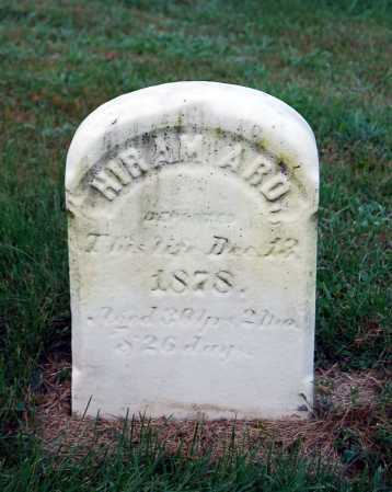 ARD, HIRAM - Juniata County, Pennsylvania | HIRAM ARD - Pennsylvania Gravestone Photos