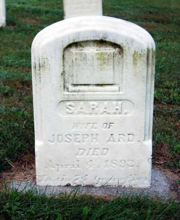 ARD, SARAH - Juniata County, Pennsylvania | SARAH ARD - Pennsylvania Gravestone Photos