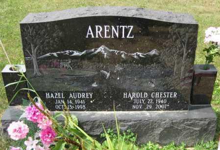 "ARENTZ, HAROLD CHESTER ""FRED"" - Juniata County, Pennsylvania   HAROLD CHESTER ""FRED"" ARENTZ - Pennsylvania Gravestone Photos"