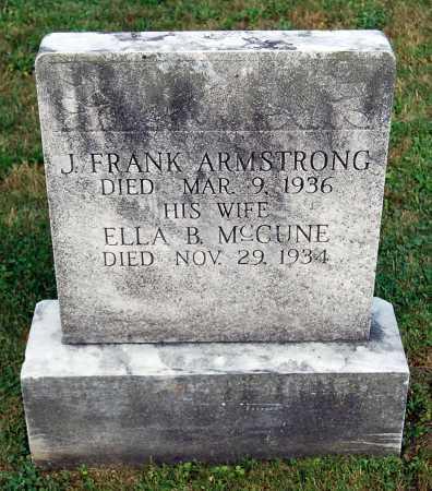 ARMSTRONG, J. FRANK - Juniata County, Pennsylvania | J. FRANK ARMSTRONG - Pennsylvania Gravestone Photos