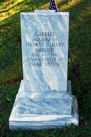 ARNOLD, ISABELLE - Juniata County, Pennsylvania | ISABELLE ARNOLD - Pennsylvania Gravestone Photos