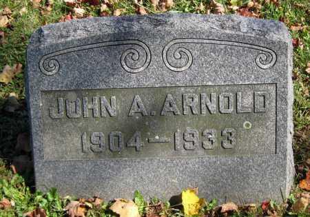 ARNOLD, JOHN A. - Juniata County, Pennsylvania   JOHN A. ARNOLD - Pennsylvania Gravestone Photos
