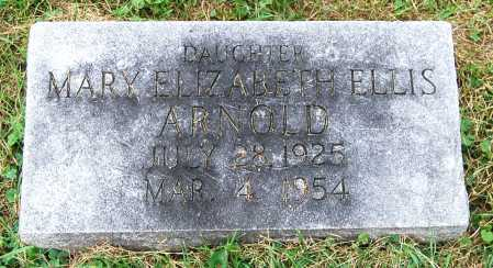 ELLIS ARNOLD, MARY ELIZABETH - Juniata County, Pennsylvania | MARY ELIZABETH ELLIS ARNOLD - Pennsylvania Gravestone Photos