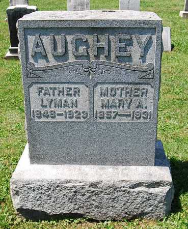 AUGHEY, MARY A. - Juniata County, Pennsylvania | MARY A. AUGHEY - Pennsylvania Gravestone Photos