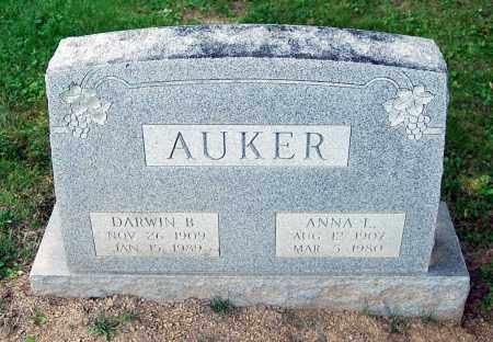 AUKER, ANNA L. - Juniata County, Pennsylvania | ANNA L. AUKER - Pennsylvania Gravestone Photos