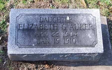 AUKER, ELIZABETH G. - Juniata County, Pennsylvania | ELIZABETH G. AUKER - Pennsylvania Gravestone Photos