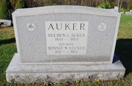 AUKER, MINNIE N. - Juniata County, Pennsylvania | MINNIE N. AUKER - Pennsylvania Gravestone Photos